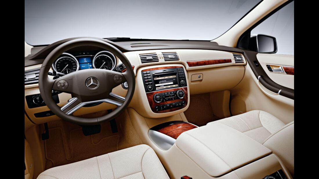 Mercedes R-Klasse Kaufberatung, Innenraum, Cockpit