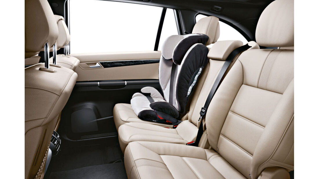 Mercedes R-Klasse Kaufberatung, Kindersitz