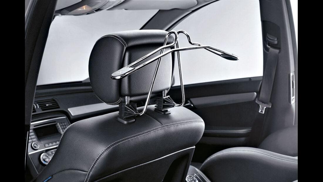 Mercedes R-Klasse Kaufberatung, Kleiderbügel