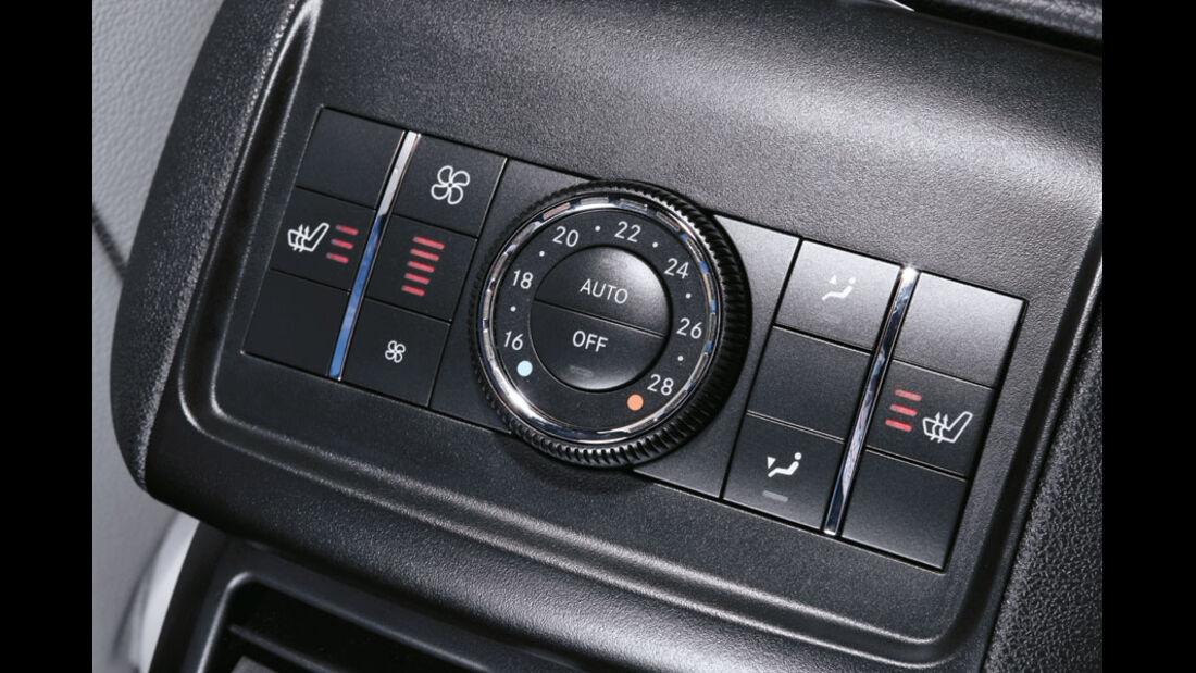 Mercedes R-Klasse Kaufberatung, Klimaautomatik