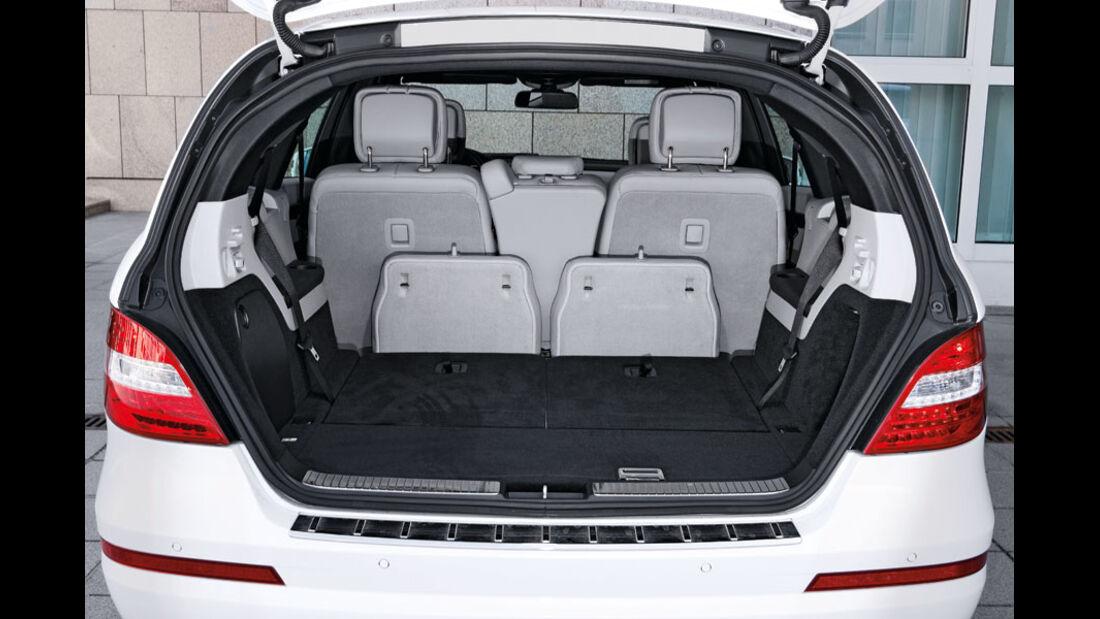 Mercedes R-Klasse Kaufberatung, Kofferraum
