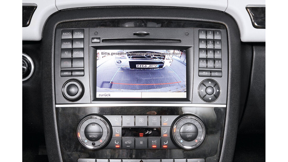 Mercedes R-Klasse Kaufberatung, Rückfahrkamera
