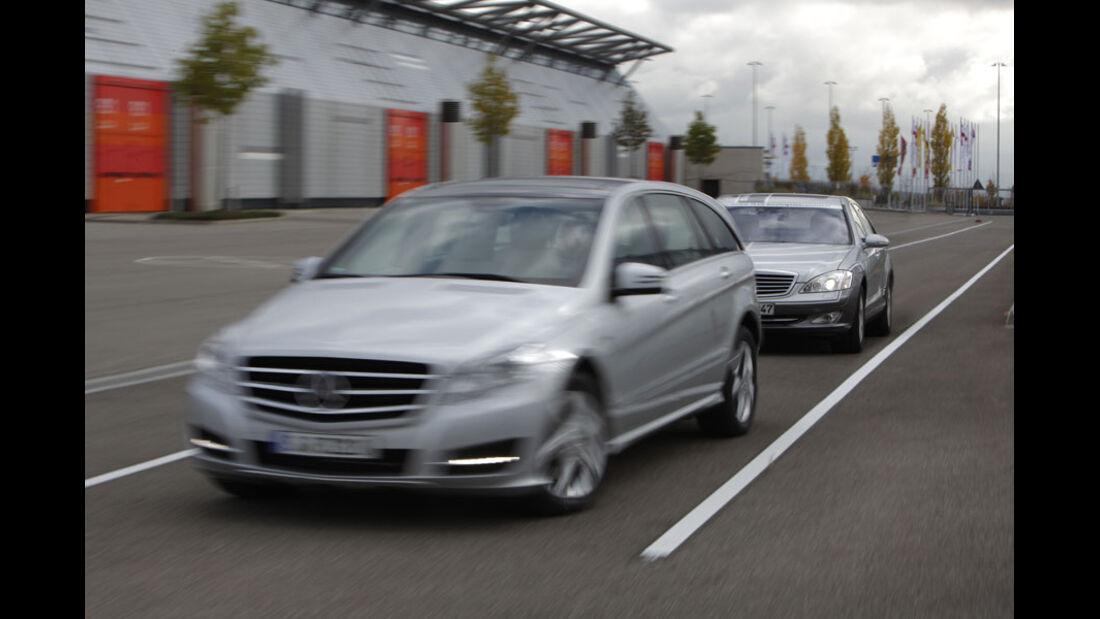 Mercedes R-Klasse, Mercedes S-Klasse, Staufolgefahrassistent