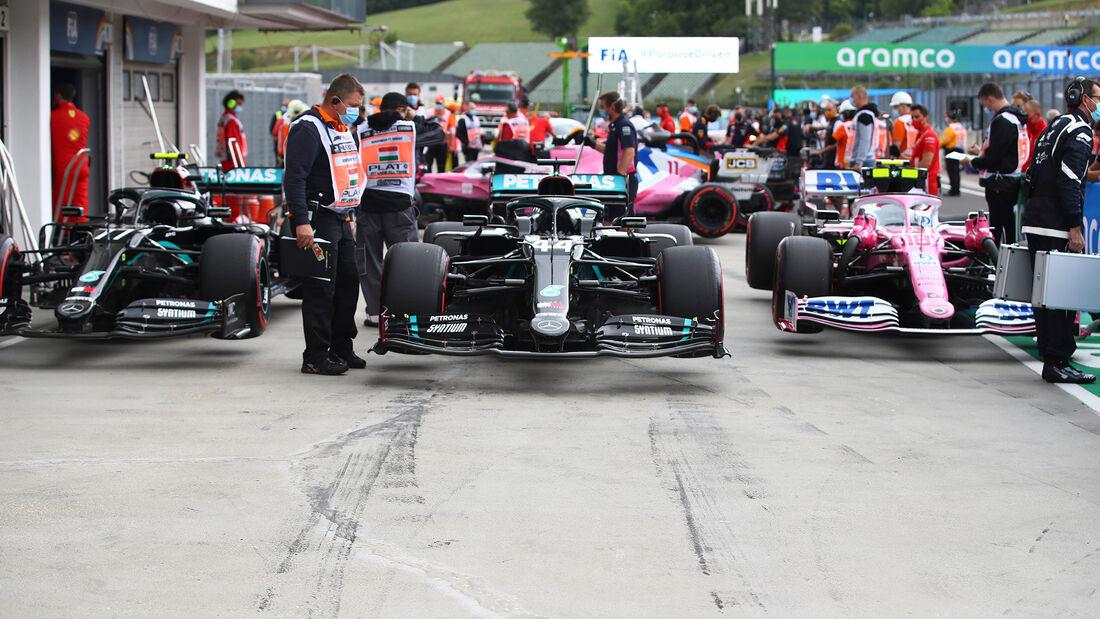 Mercedes & Racing Point - GP Ungarn 2020