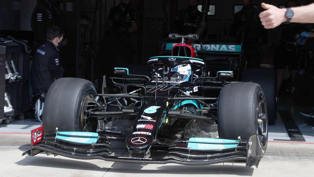 Mercedes-Reifentest - Imola - Pirelli 18 Zoll - 2021