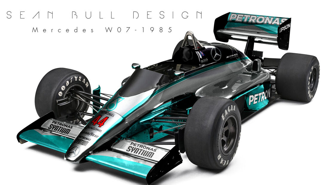 Mercedes - Retro F1 - Sean Bull