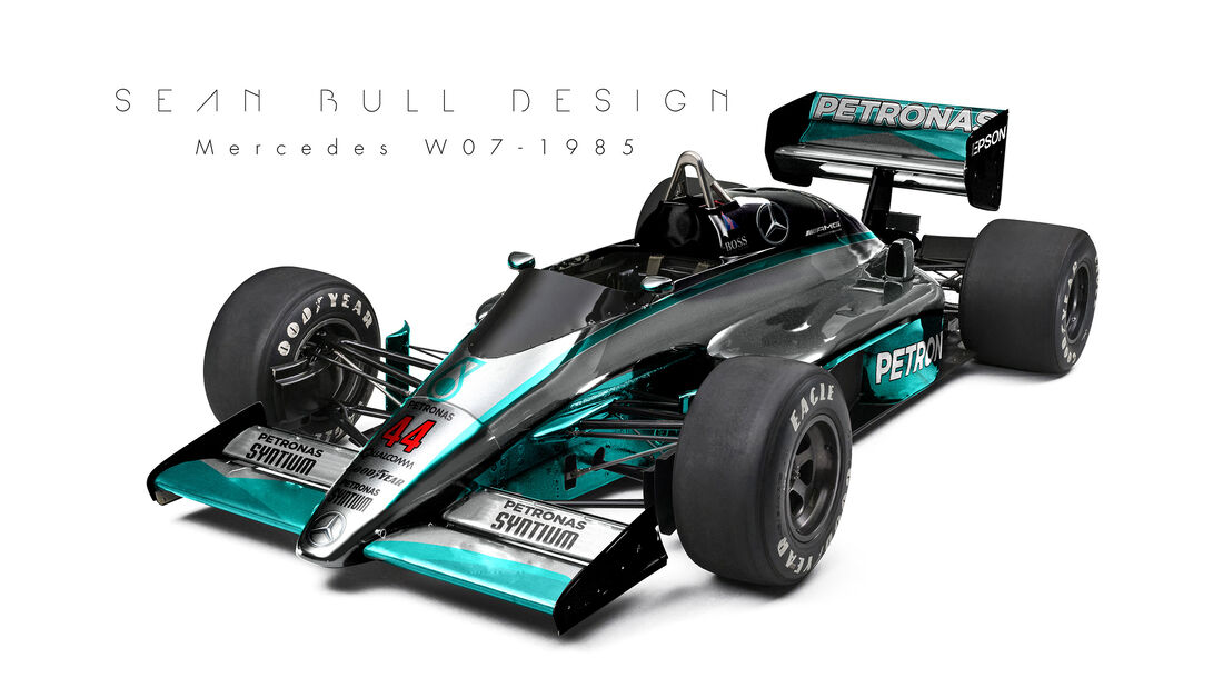 Mercedes - Retro F1 - Sean Bull