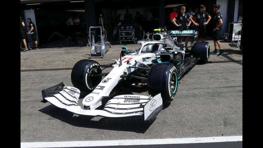 Mercedes - Retro-Lackierung - GP Deutschland 2019