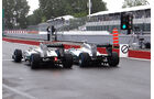 Mercedes - Rosberg & Hamilton - GP Kanada 2013