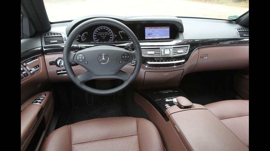 Mercedes S 250 CDI, Lenkrad