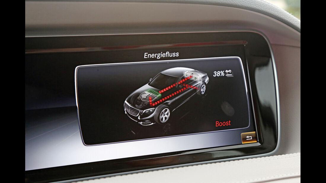 Mercedes S 300 Bluetec Hybrid, Display, Infotainment