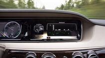 Mercedes S 300 Bluetec Hybrid, Monitor, Bordcomputer