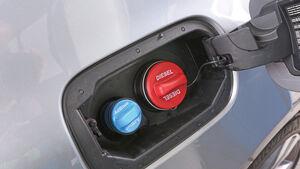 Mercedes S 300 Bluetec Hybrid, Tankdeckel