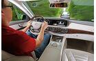 Mercedes S 350 Bluetec, Cockpit