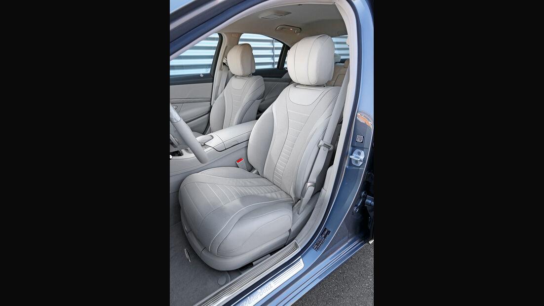 Mercedes S 350 Bluetec, Fahrersitz