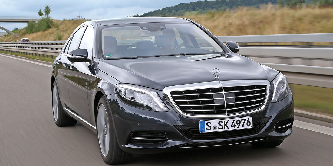 Mercedes S 350 Bluetec, Frontansicht