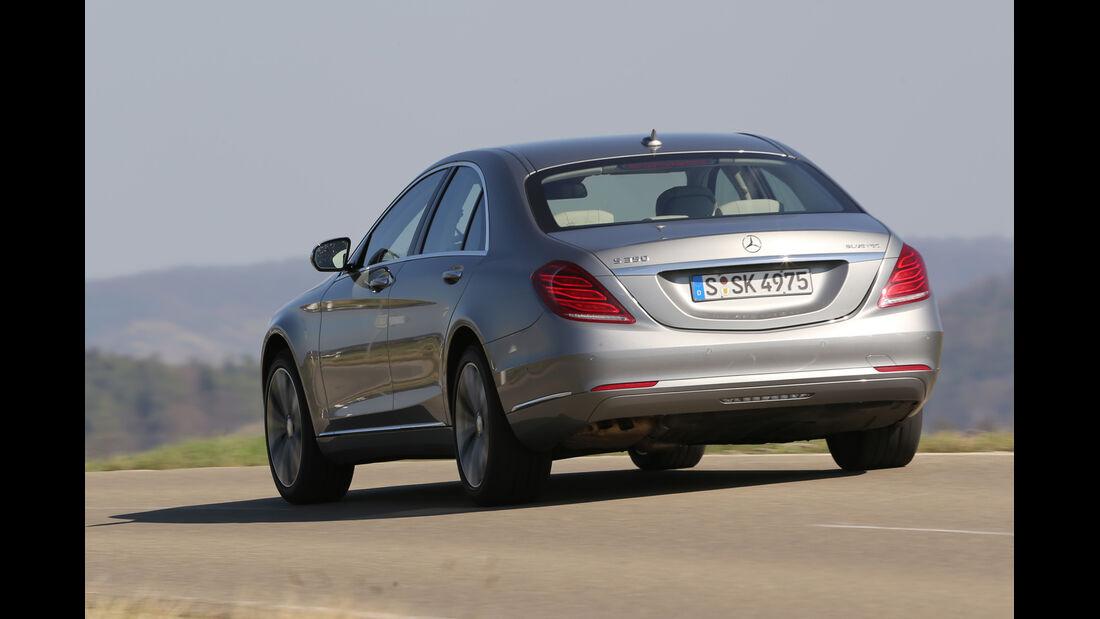 Mercedes S 350 Bluetec, Heckansicht