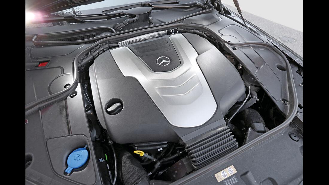 Mercedes S 350 Bluetec, Motor