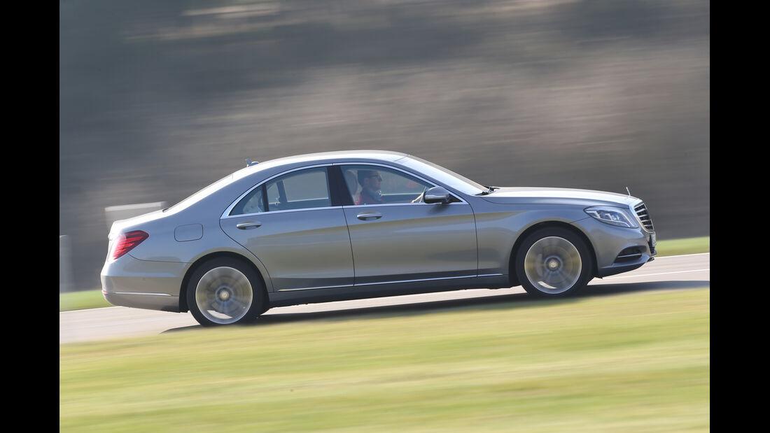 Mercedes S 350 Bluetec, Seitenansicht