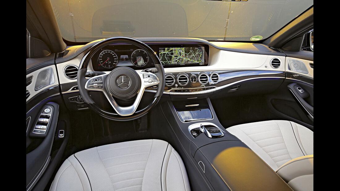 Mercedes S 350 d 4Matic, Interieur