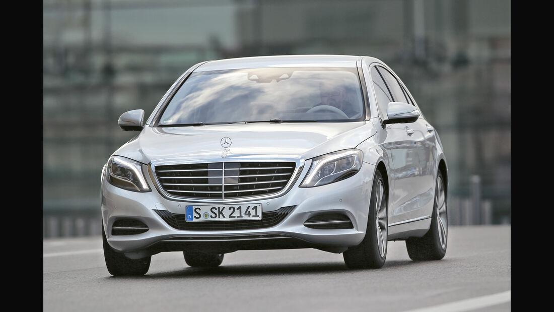 Mercedes S 350 d, Frontansicht