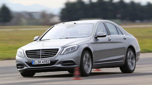 Mercedes S 400 Hybrid, Bremstest