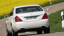 Mercedes S 400 Hybrid, Heck, Heckansicht