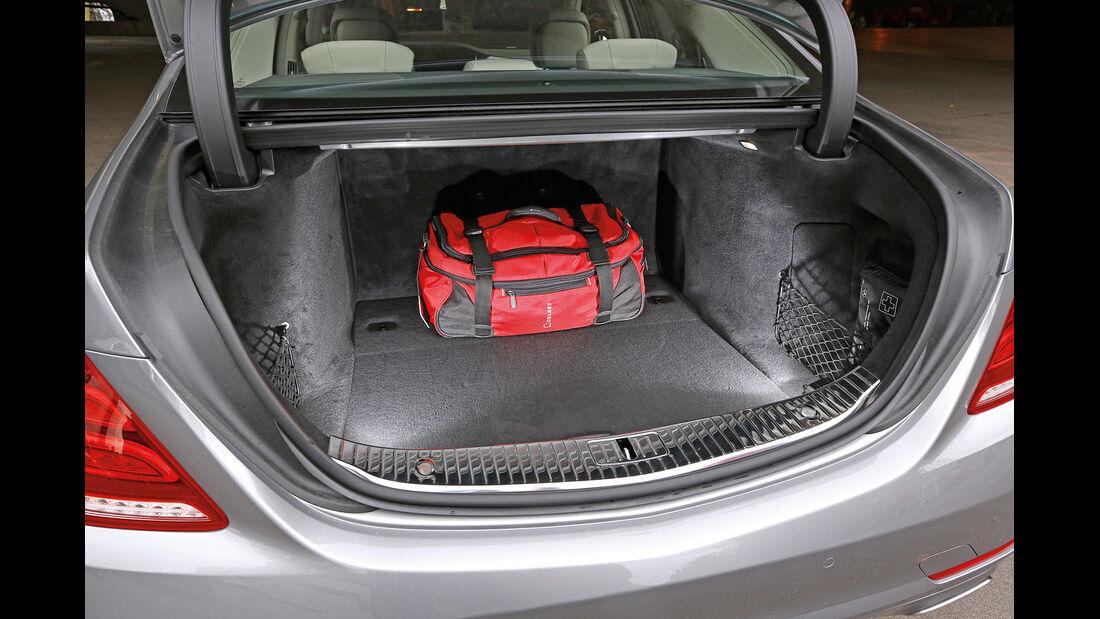 Mercedes S 400 Hybrid, Kofferraum
