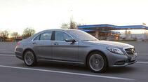 Mercedes S 400 Hybrid, Seitenansicht