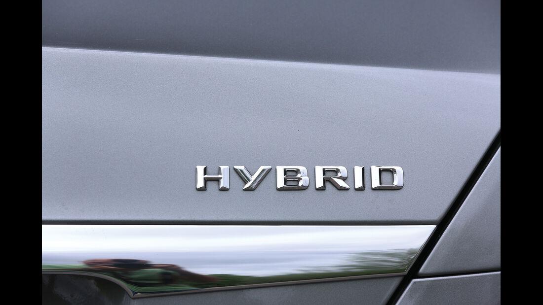 Mercedes S 400 Hybrid, Typenbezeichnung