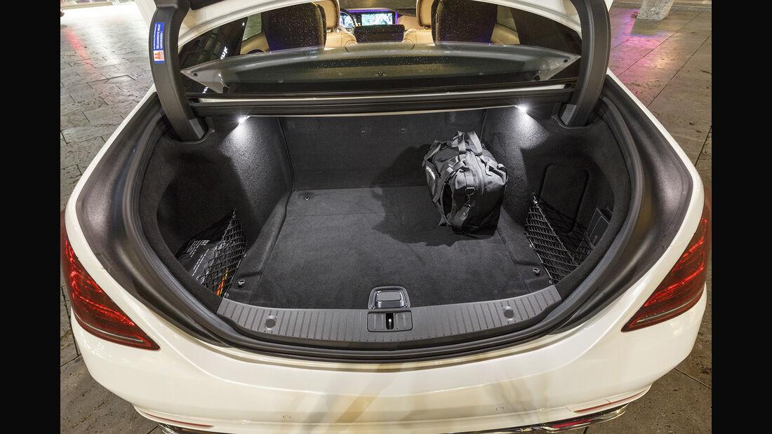 Mercedes S 450 4Matic, Interieur, Kofferraum