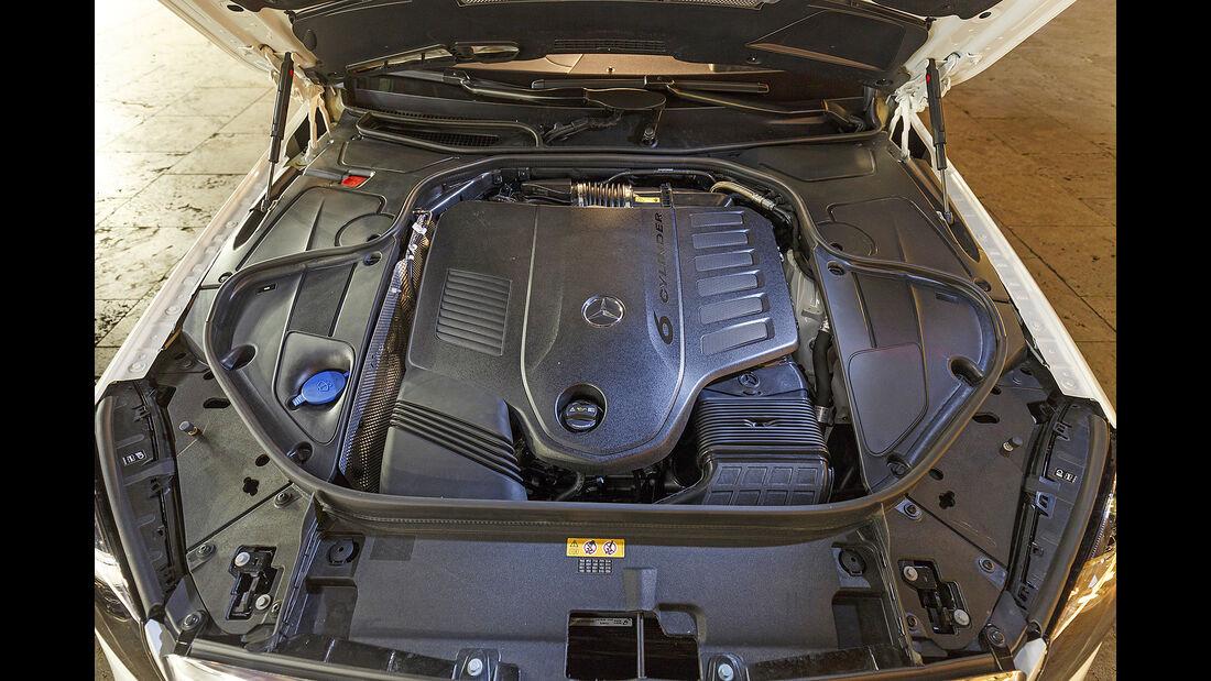 Mercedes S 450 4Matic, Motor
