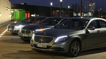 Mercedes S 500 4Matic, Audi A8 4.0 TFSI Quattro, BMW 750i