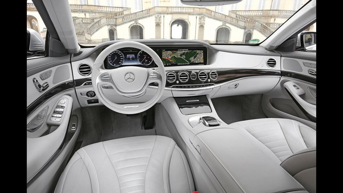 Mercedes S 500 4Matic, Cockpit