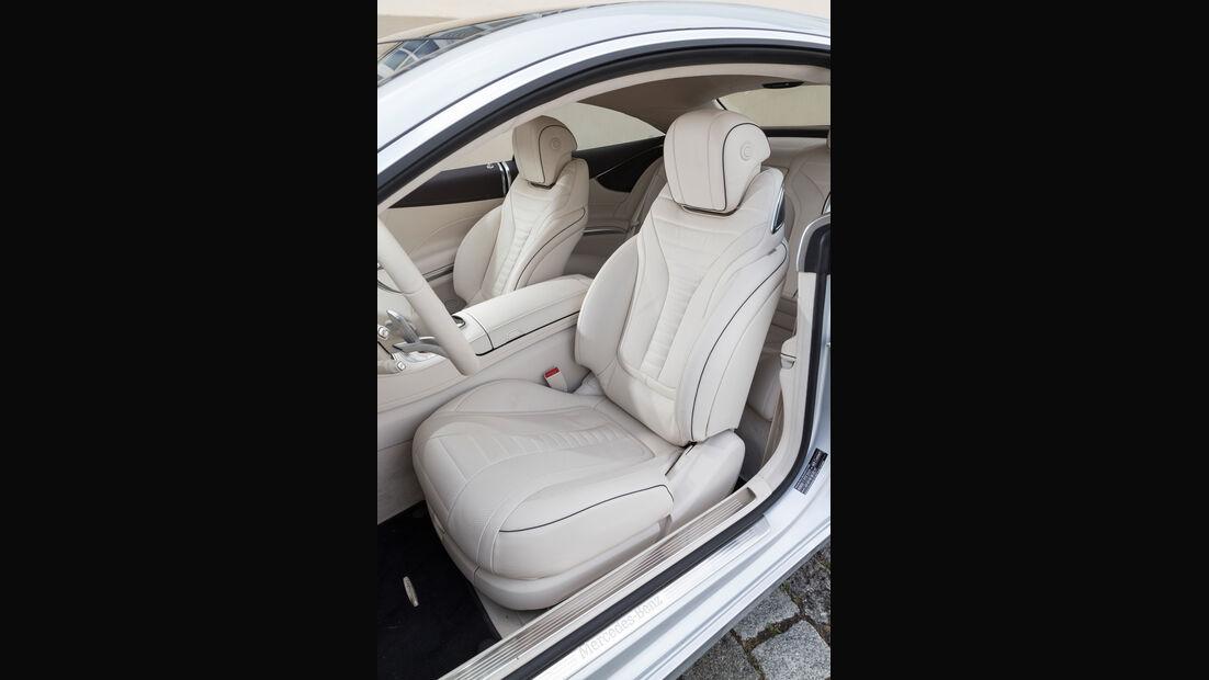 Mercedes S 500 4Matic Coupé, Fahrersitz