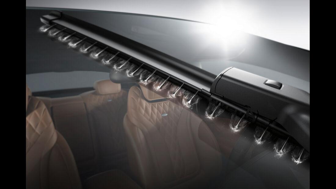 Mercedes S 500 4Matic Coupé, Lack