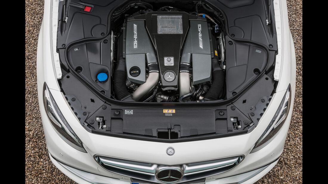 Mercedes S 500 4Matic Coupé, Motor