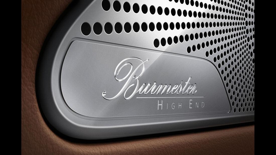 Mercedes S 500 4Matic Coupé, Soundsystem, Lautsprecher