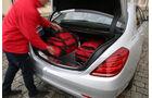 Mercedes S 500 4Matic, Kofferraum