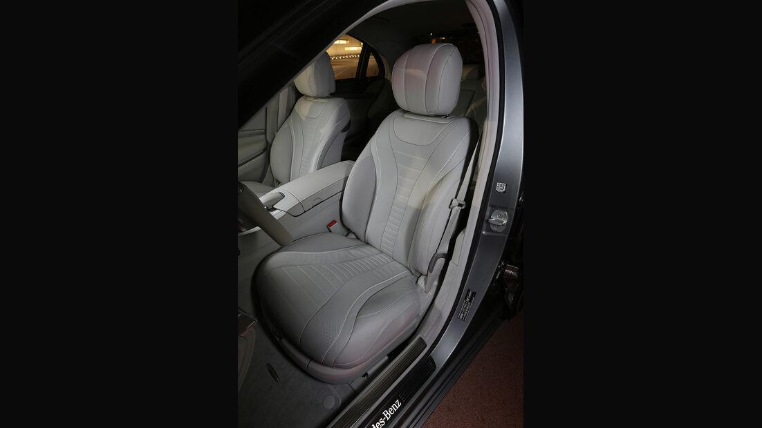 Mercedes S 500 4Matic, Sitz