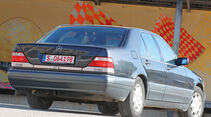 Mercedes S 500, Heckansicht