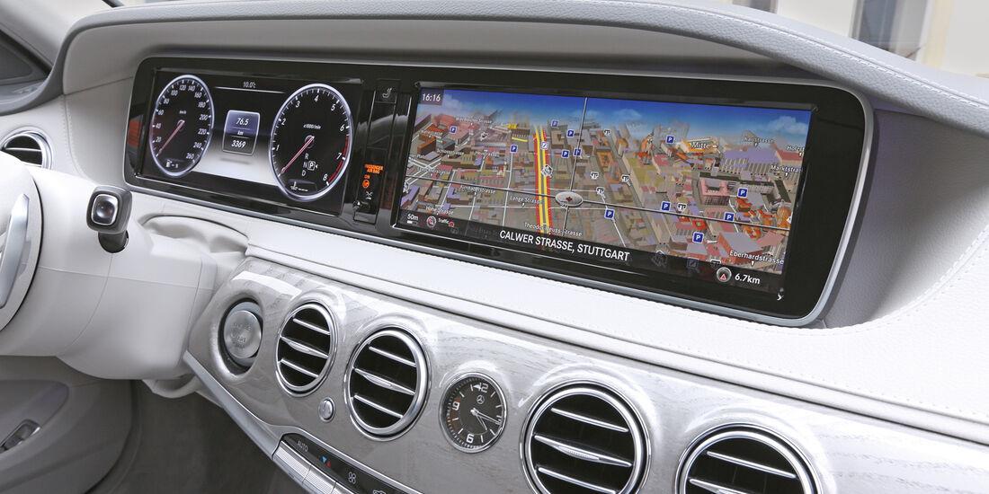 Mercedes S 500, Infotainment