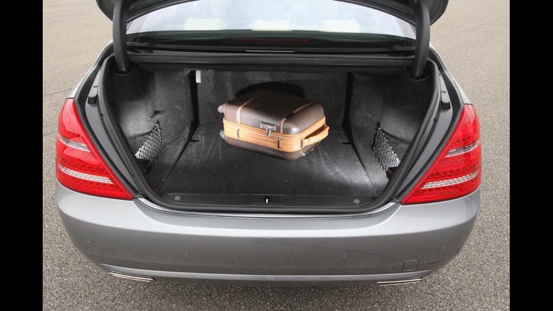 Mercedes S 500, Kofferraum