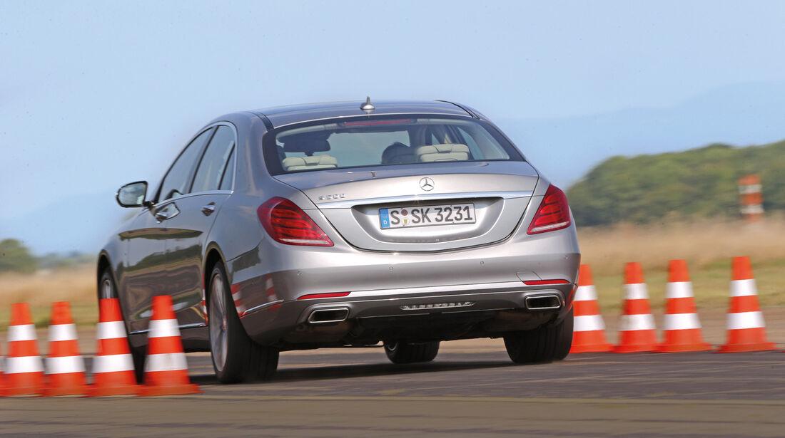 Mercedes S 500 L, Beschelunigung