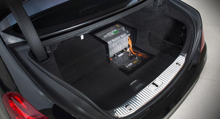 Mercedes S 500 Plug-in-Hybrid, Batterie