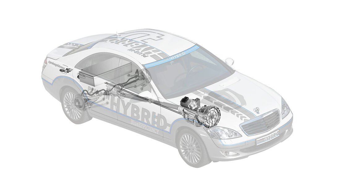 Mercedes S 500 Plug-in-Hybrid, Technik