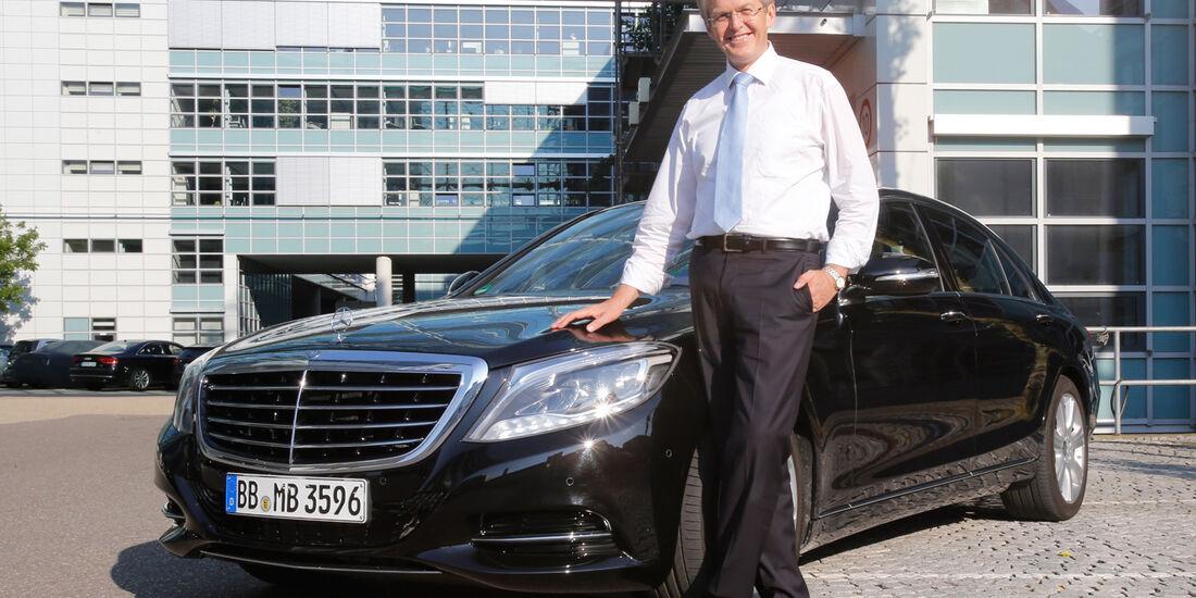 Mercedes S 500 Plug-in-Hybrid, Thomas Weber