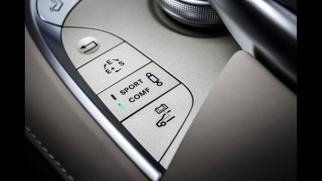 Mercedes S 500 Plug-in-Hybrid lang, Bedienelemente