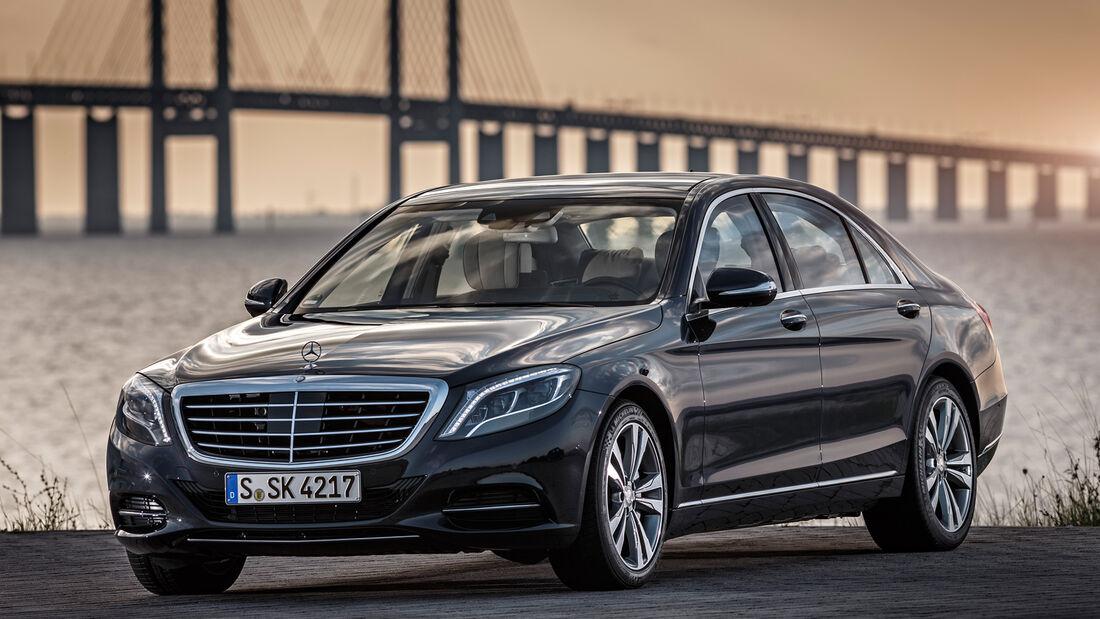 Mercedes S 500 Plug-in-Hybrid lang, Frontansicht