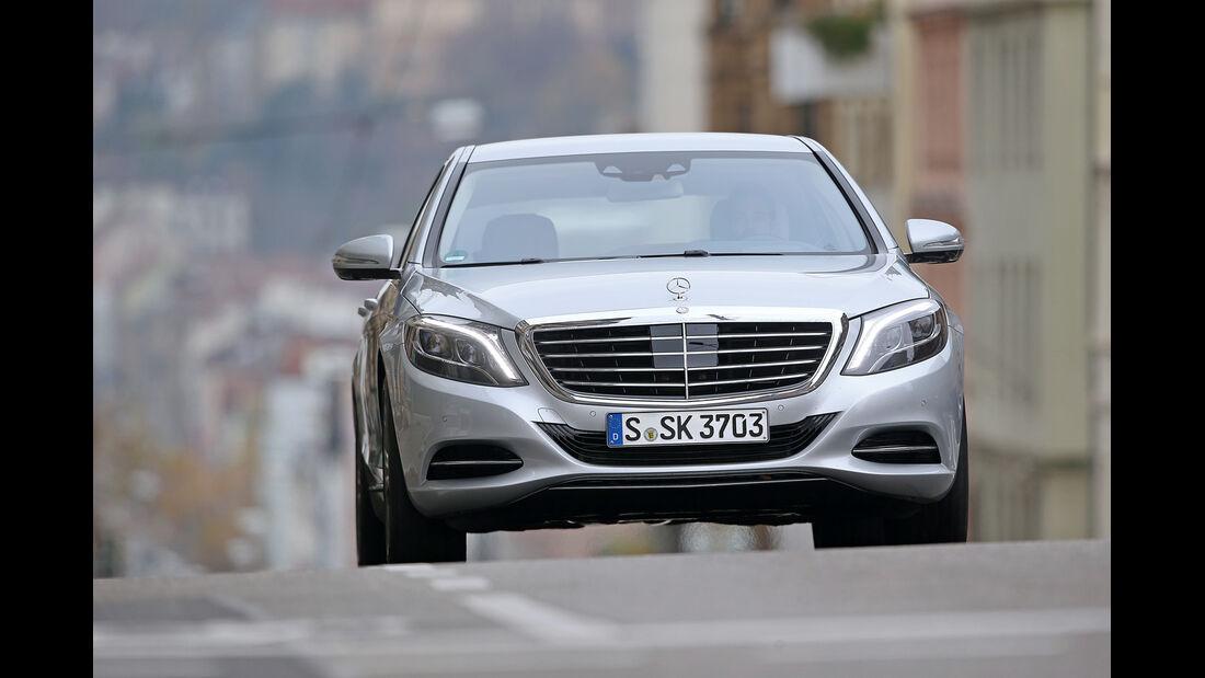 Mercedes S 500 Plug in Hybrid lang, Frontansicht